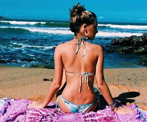bikini, underwear, and girls image