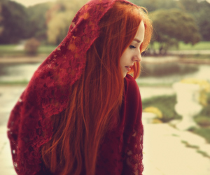 hair, pagan, and redhead image