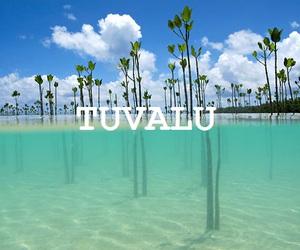 travel, tuvalu, and world image