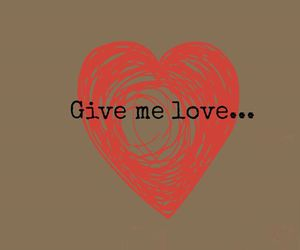 music, songs, and give me love image