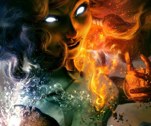 avatar, fire, and korra image