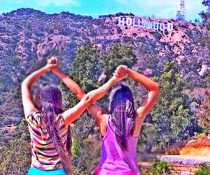 best friend, hollywood, and yoga image