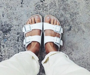 bloggers, fashion, and sandals image