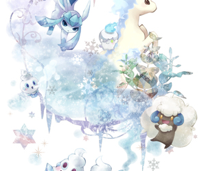 pokemon and glaceon image
