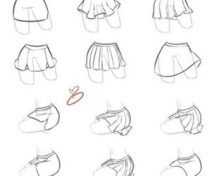 drawing, skirt, and draw image