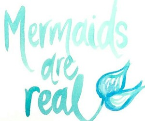 mermaid, real, and blue image