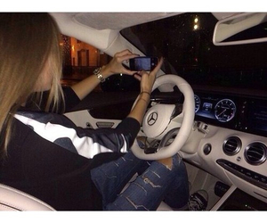 car, luxurious, and driving image