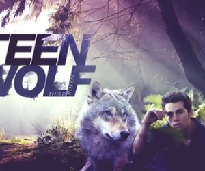 teen wolf, dylan o'brien, and wolf image