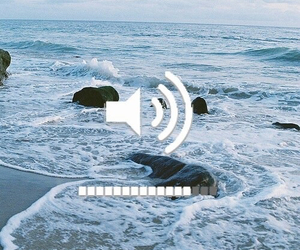 music, summer, and beach image