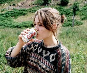 girl, coke, and vintage image