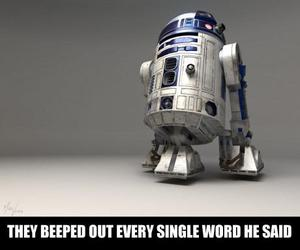 lol, funny, and r2d2 image