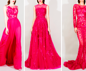 dress, haute couture, and runway image