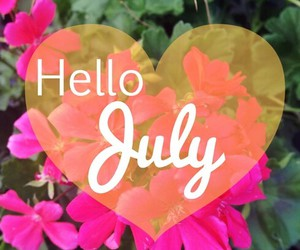 fashion, flowers, and july image