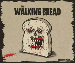 the walking dead and bread image