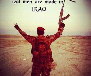 iraq and men image
