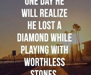 diamond, quotes, and stone image