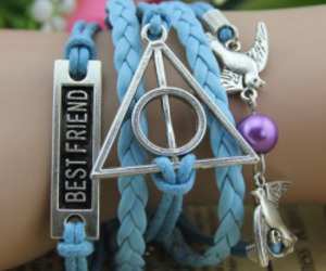 bracelet, harry potter, and deathly hallows image