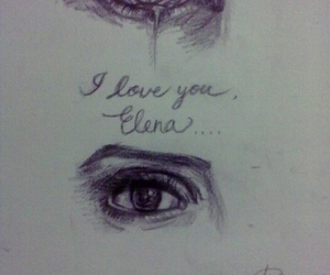 damon, elena, and eye image