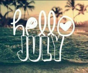 july, summer, and be good image