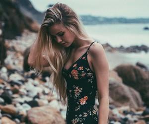scarlett leithold, beach, and girl image