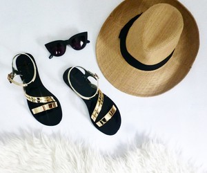 hat and shoes image