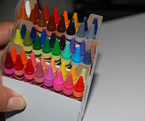 crayons, colors, and cool image