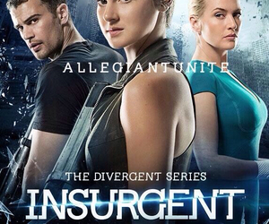 insurgent, divergent, and Shailene Woodley image