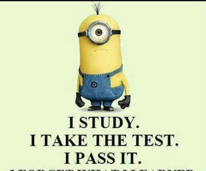 learn, minion, and motivation image