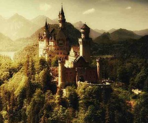 fairytale, magical, and castle image