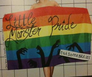 gay pride, Lady gaga, and little monster image