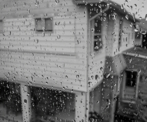 rain, photography, and house image
