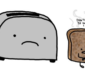 toast and funny image