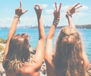 summer, love, and friends image