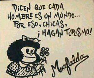 mafalda, hombres, and turismo image
