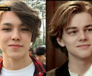 Vernon looks like Leonardo DiCaprio (3) on We Heart It