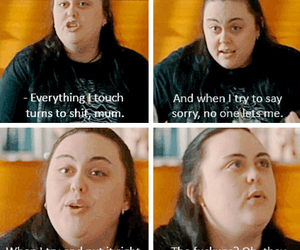quotes, tv show, and my mad fat diary image