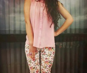 clothes, floral, and girly image