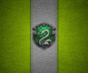 slytherin, harry potter, and harrypotter image