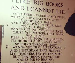 book, funny, and song image