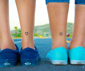 goals, friends, and tatto friend image