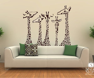 decal, etsy, and wall stickers image