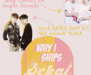 exo, otp, and kai image