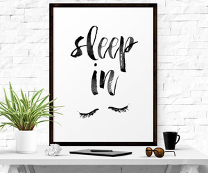 home decor, motivational quote, and typography poster image