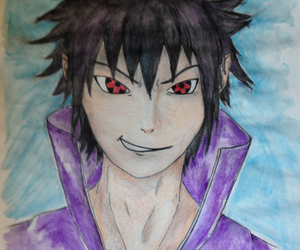 anime, naruto shippuden, and draw image