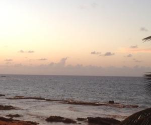 Island, vacation, and sunset image