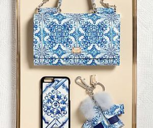 fashion, blue, and bag image