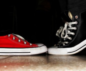 all star, black converse, and converse image