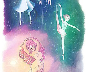 dance, pearl, and galaxy image