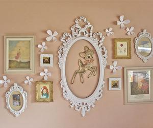 vintage, pastel, and frame image
