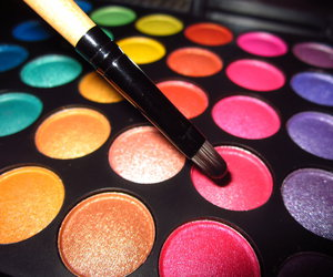 makeup, beauty, and colorful image